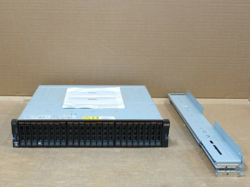 IBM Storwize V5000 2078-24C Dual Quad 8GB FC Controller Storage Array